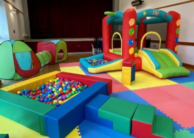 Tunnel, Ball Pit and Toddler Castle